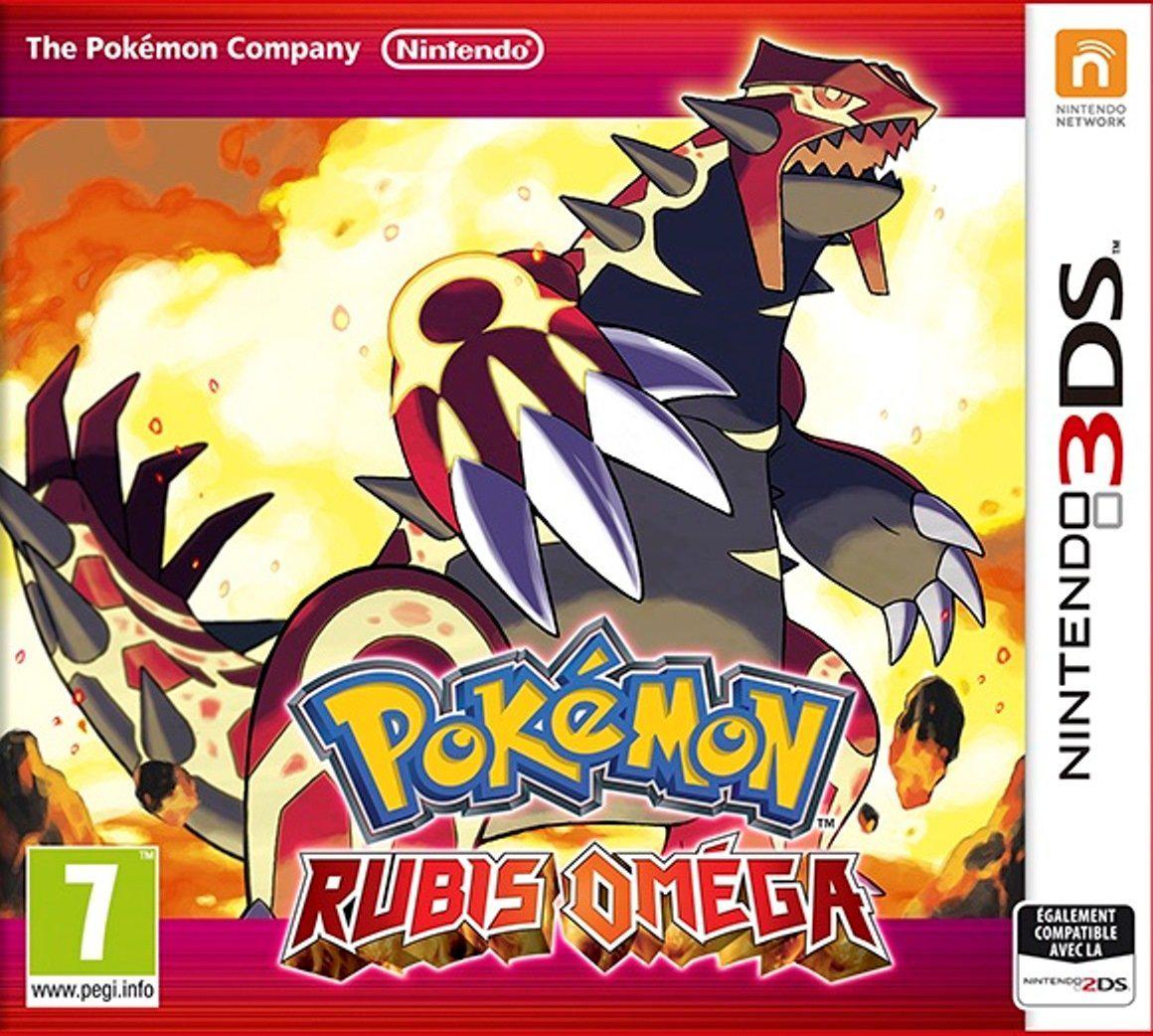 [Précommande] Jeu 2DS/3DS Pokémon Rubis Oméga ou Saphir Alpha