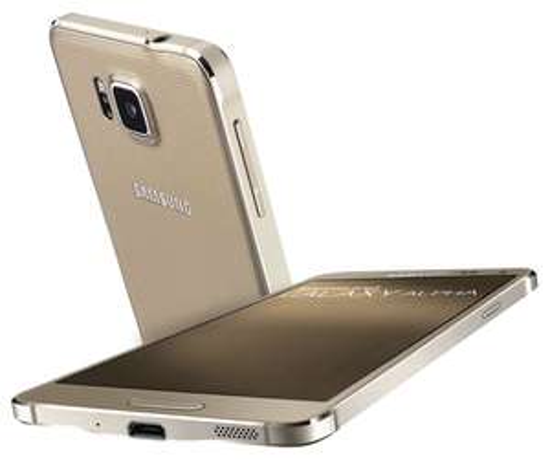 Smartphone Samsung Galaxy Alpha Or (avec ODR 70€)