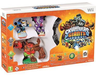 Packs de démarrage : Skylanders Swap Force Wii + Skylanders Giants Wii