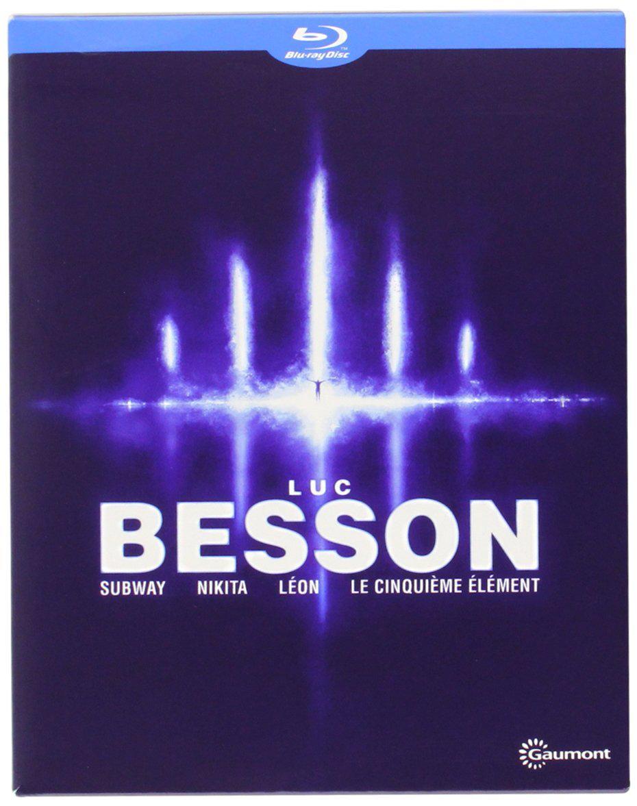 Coffret 4 Blu Ray Luc Besson : Subway + Nikita + Léon + Le Cinquième Elément