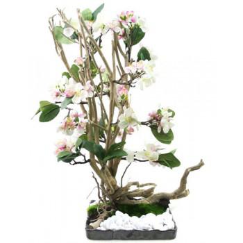 Déstockages plantes et fleurs artificielles - Ex :  4 Sapin Artificiel 60cm
