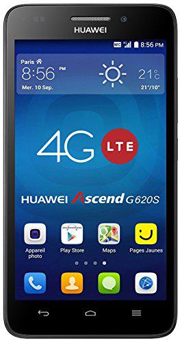 """Smartphone 5"""" Huawei Ascend G620S Smartphone débloqué 4G"""