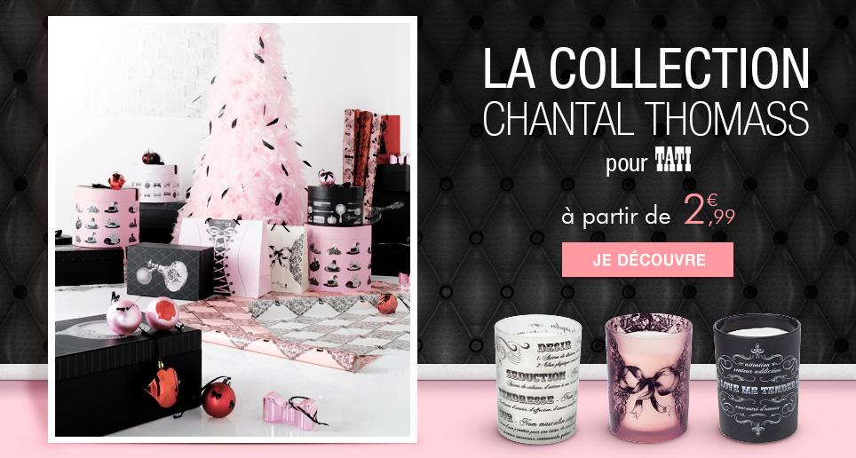 Sélection d'articles de la collection Chantal Thomas en promo - Ex : Bougie parfumée