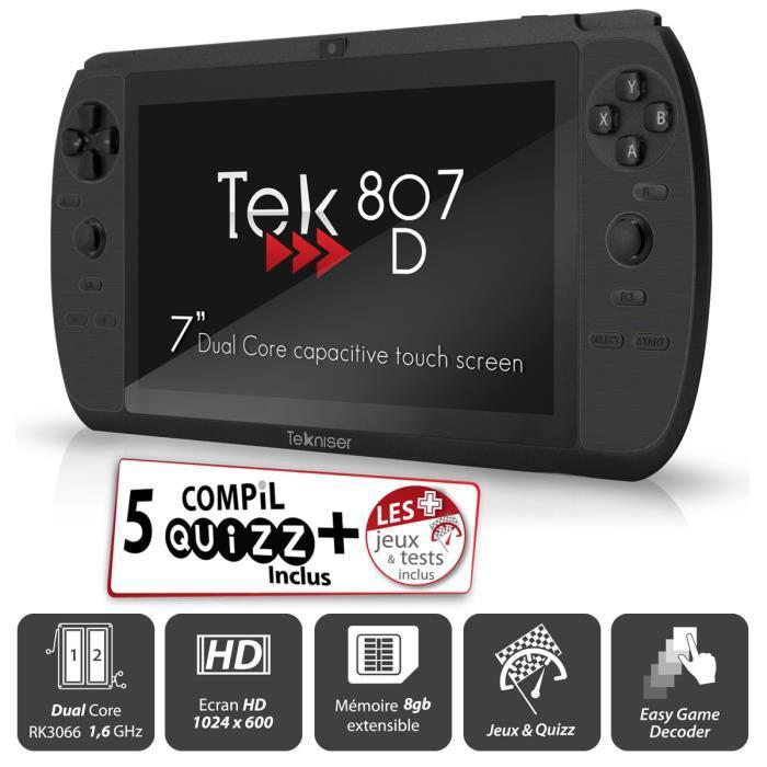 """Tablette de Jeu 7"""" Tekniser 807 D Noir"""