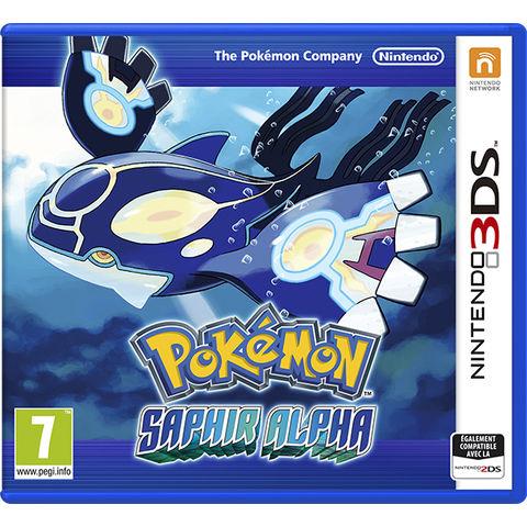 Jeu Nintendo 3DS Pokemon Saphir Alpha et Rubis Omega