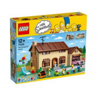 Jouet Lego 71006  La maison Simpson