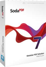 Logiciel de PDF SodaPDF Pro + OCR (Dernière version - Dématérialisé)