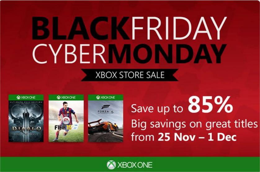 Black Friday : Jusqu'à 85% de réduction sur une liste de jeux Xbox One