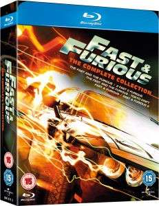 Fast and Furious édition complete 1-5 Blu-ray