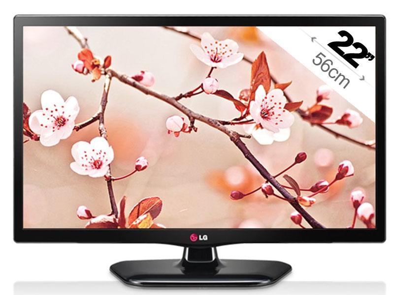 """Écran PC LCD 22"""" LG 22MT44D - Tuner TNT, Full HD"""