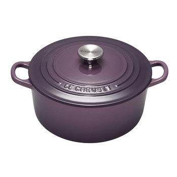 Cocotte ronde tradition Le Creuset 20cm (2.4L) - Couleur cassis