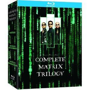 Coffret Blu-ray Trilogie Matrix (Import UK)