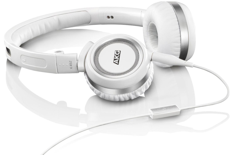 Casque Audio compact AKG K452 - Blanc