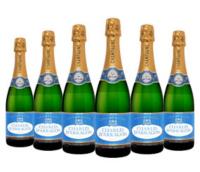 Lot de 6 bouteilles de Champagne Charles d'Arragon (13.50€ la bouteille)