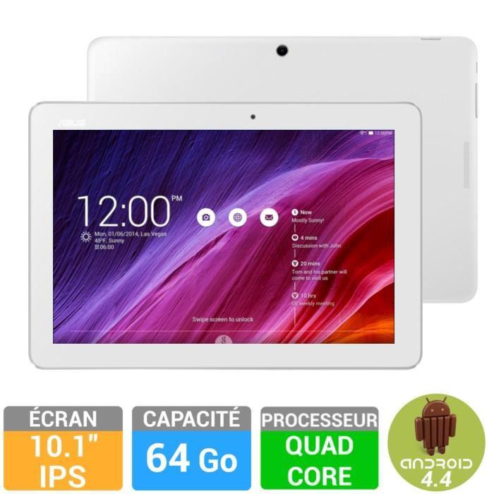 "Tablette 10.1"" Asus MeMO Pad 64Go Blanche"