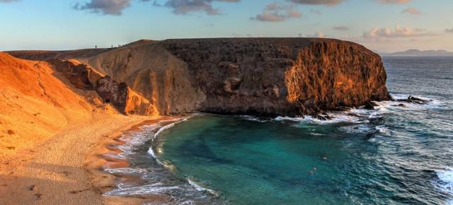 Vol Aller/Retour Paris (Beauvais) vers les Îles Canaries (Lanzarote) du 16 au 24 décembre