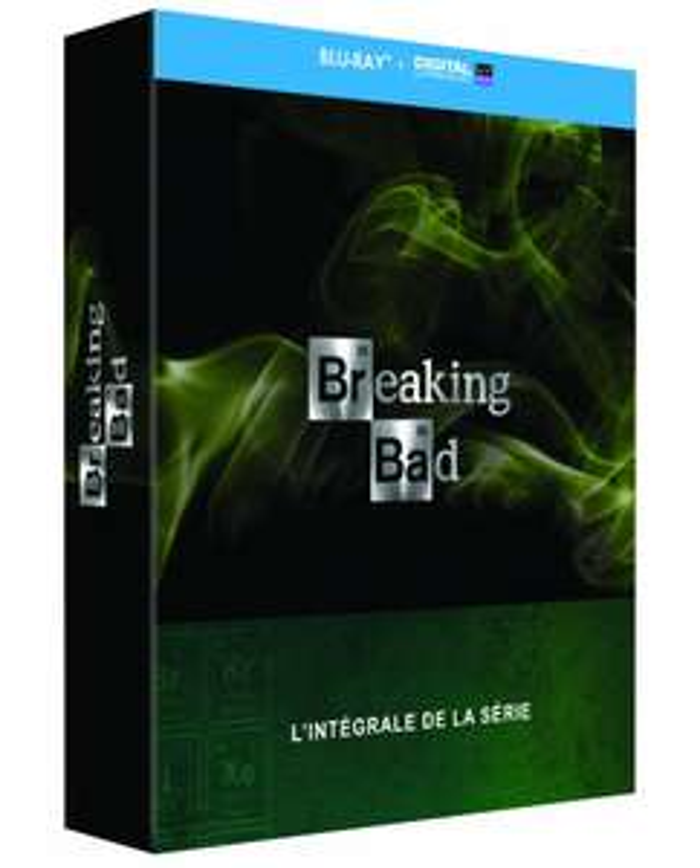 Breaking Bad l'intégrale de la série en Blu-ray