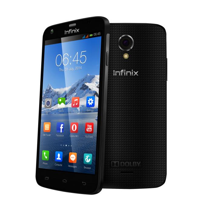 "Smartphone 5"" Infinix Race Jet - 4G - Plusieurs coloris (Avec ODR 40€)"