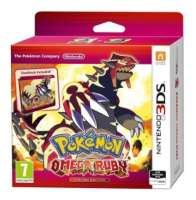 Jeu Pokémon Rubis Omega 3DS - Edition Collector Steelbook
