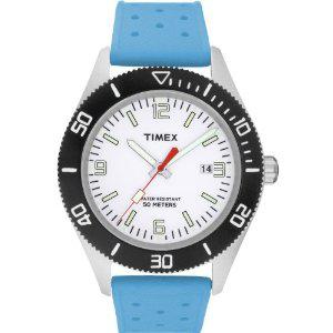 Montre Timex - T2N537D7 - Bracelet Silicone Bleu