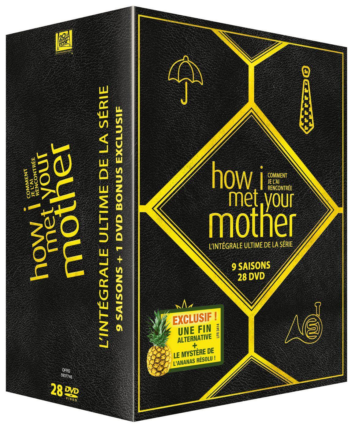 Coffret DVD Intégrale How I Met Your Mother saisons 1 à 9