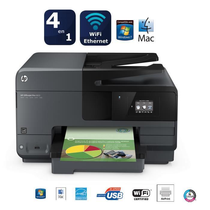 Imprimante HP Officejet  PRO 8610 WIFI + Cartouche HP (CN045AE) n° 950XL (avec ODR de 40€)