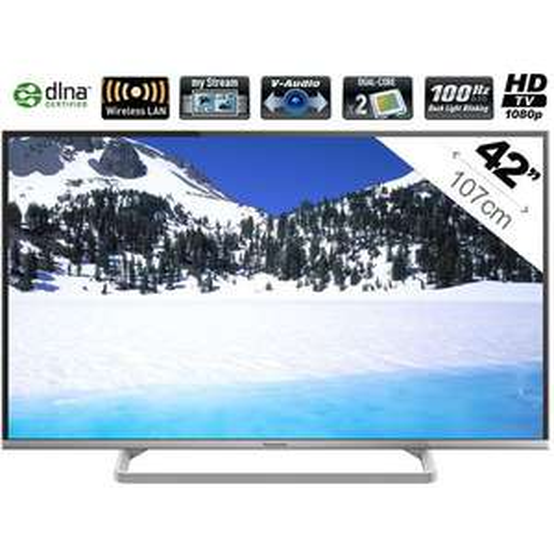 TV 42'' Panasonic TX-42AS600E Smart TV DLNA HDTV  + Bon d'achat de 60€ (avec minimum d'achat)