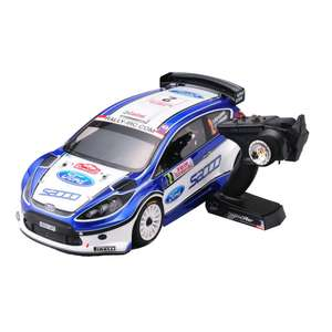 Voiture radiocommandée DRX Ve Ford Fiesta S2000 4WD Readyset EP (2.4Ghz)