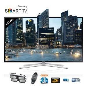 "Téléviseur LED 48"" Samsung UE48H6400 - Smart TV, 3D"