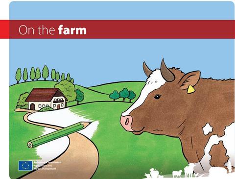 """Livre de coloriage pour enfant """"On the farm"""" gratuit en version numérique et/ou papier"""