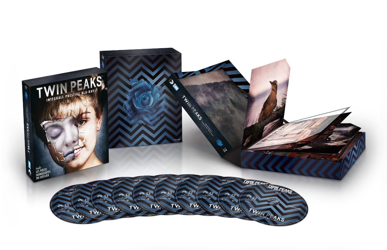 Coffret Bluray Twin Peaks  l'intégrale Série TV + Film 10 Blu-ray