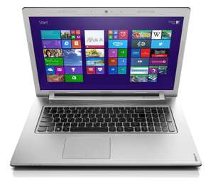 "PC portable 17"" Lenovo Z710  i7, 4Go RAM, HDD 1 To, NVIDIA 2 Go, Windows 8.1"