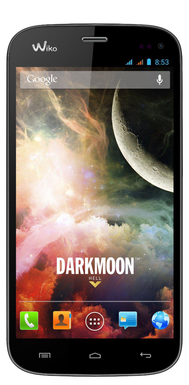 "Smartphone  4.7"" Wiko Darkmoon  Android 4.2.2  Noir (ODR 30€)"