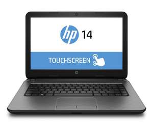 "PC portable tactile 14"" HP 14-r020nf - Argent"