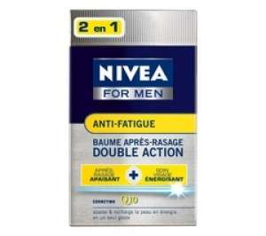 NIVEA Baume après-rasage Q10 anti-fatigue 2 en 1 Nivea For Men - 100 ml
