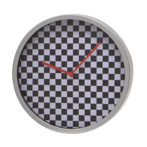 Horloge murale (20cm) en pvc/alu