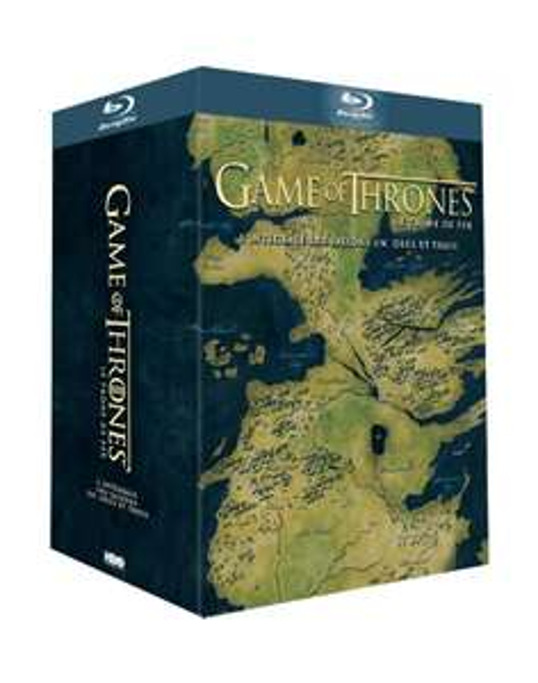 -50% sur une sélection de près de 250 coffrets DVD, Blu-ray et Séries TV - Ex : Coffret Blu-ray Game Of Thrones Saisons 1 à 3 à 31.99€