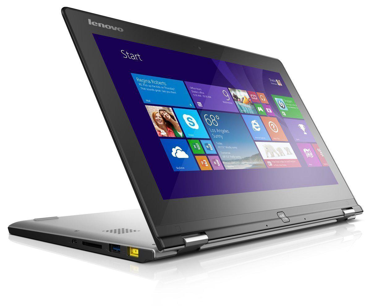 """PC Portable hybride tactile 11"""" Lenovo Yoga 2 - Noir (avec ODR 100€)"""