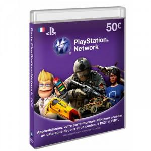 Playstation LiveCards PSN/SEN de 50€ (PS3/PSP/PS Vita)