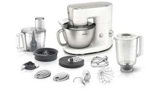 Robot Multifonctions Philips HR7958/00 (Blender, Presse-Agrumes, Mini-Hachoir, Hachoir) 4 L (avec ODR 50€)