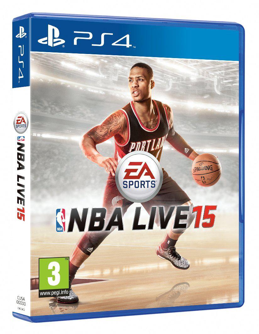 Jeu NBA Live 15 sur PS4 et XBOX One
