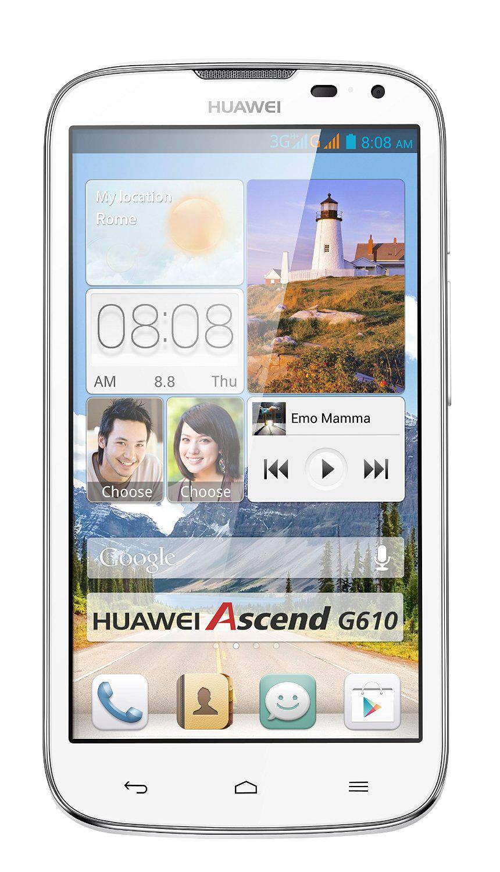 Smartphone Huawei Ascend G610 Blanc ou noir