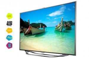 """Télévision Samsung UE40ES8000 40"""" 3D (2 paires fournies) Wifi"""
