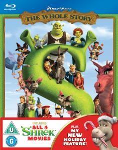 Coffret Shrek La Méga Intégrale - 4 Blu-rays (Piste son DD 5.1 FR)