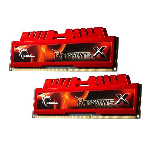 RAM Gskill Ripjaws X 8Go (2 x 4 Go) DDR3 PC3-12800 (1600Mhz) CAS 9