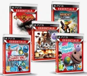 Sony PS3 Essentials : 2 jeux achetés = le 3e offert