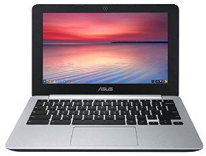 """PC portable Asus Chromebook C200MA-KX002 11"""" Noir et Argent"""