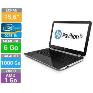 "Pc portable 15.6"" HP Pavilion 15-N210SF - i3-3217U, 6Go, HD8670M"