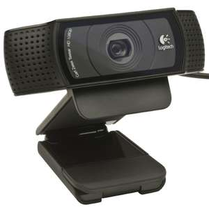webcam  Logitech  C920 - Full HD