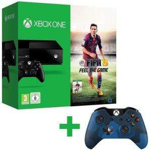 Pack XBOX One + FIFA 15 + Manette sans fil Midnight Forces
